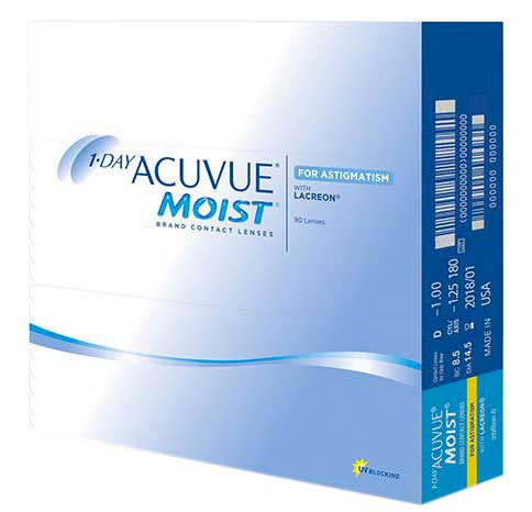 1 Day Acuvue Moist Astigatism 90